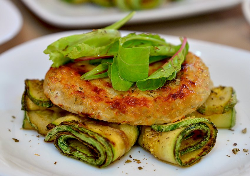 Hambúrguer de Tilápia Gourmet