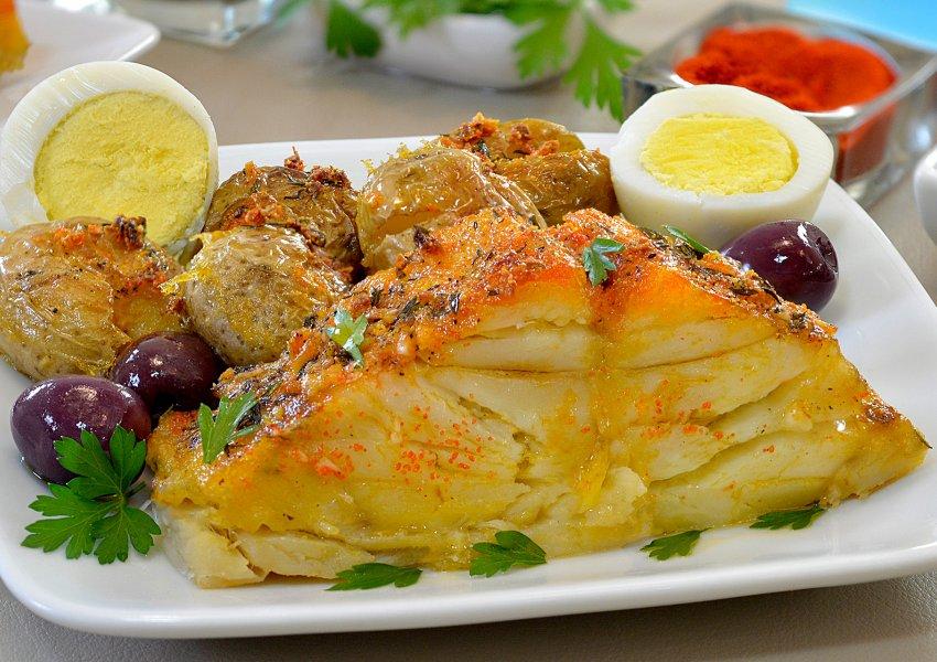 Bacalhau com Batatas ao Murro