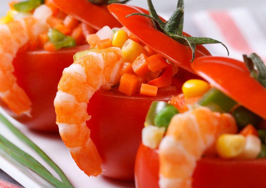 Tomates Recheados à Primavera